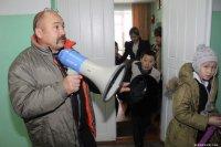Школьников Тувы обучают действиям на случай землетрясения