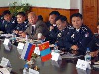 Состоялась встреча полицейских Монголии и Тувы и Алтая