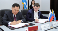 В Туве подписано Концессионное соглашение в отношении двух региональных автомобильных дорог