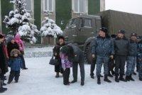 Отряд тувинской полиции отправился в полугодовую командировку на Северный Кавказ