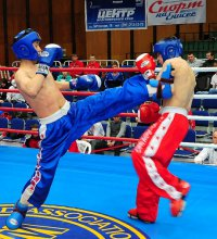 Десять юных спортсменов из Тувы стали чемпионами Сибири по кикбоксингу