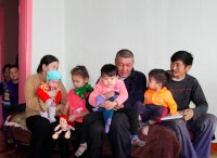В Туве мастер «шиномонтажки» спас на пожаре 4 малолетних детей
