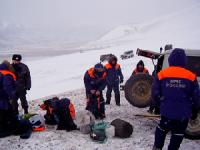 Спасшийся от лавины 17-летний Антон Салчак участвует в поисках своих товарищей