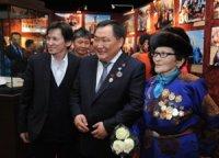 Глава Тувы встретился в Улан-Баторе с этническими тувинцами Монголии
