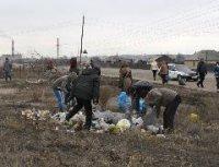 В столице Тувы стартовали еженедельные субботники