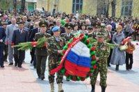 В Туве состоится возложение венков к Мемориалу павших воинов