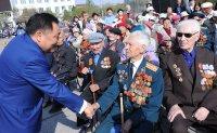 Глава Тувы поздравил жителей республики с Днем Победы