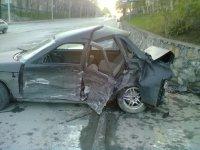 Автомобиль из Тувы попал в ДТП в Новосибирске
