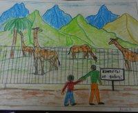 Дети Тувы рисуют «Мою семью»