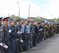 В Туве завершены учения правоохранительных органов