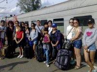 Тува-Ровно. На Украину отправились школьники-потомки тувинских добровольцев