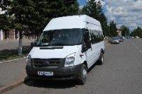 Муниципальный пассажирский автопарк Кызыла пополнился 4-мя микроавтобусами «Форд»