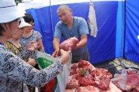 Продукция местного производства - на обновленном сельхозрынке в Кызыле