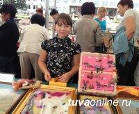 Для кызылчан провели мастер-классы командной и одиночной работы с войлоком