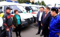 Лечебно-диагностический детский центр «на колесах» поступил в Туву