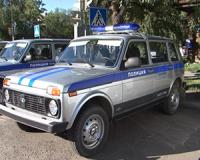 11 новых автомашин поступило в распоряжение полицейских Тувы