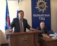 Глава Тувы обсудил с коллективом Кызылской ТЭЦ вопросы готовности к зимнему сезону