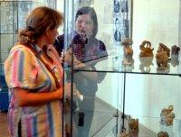 До октября в Кемерово будет работать выставка камнерезного искусства Тувы