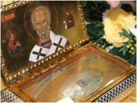 В Туву доставят ковчег с мощами Николая Чудотворца