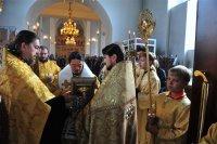 Ковчег с мощами святителя - в Туве