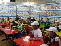 Юные инспекторы ГИБДД гимназии № 5 будут представлять Туву на всероссийском финале конкурса «Безопасное колесо»