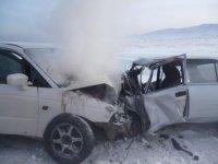 В Туве судят виновника аварии, в которой погибли трое полицейских