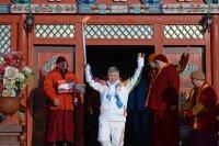 28 ноября, когда Тува будет принимать Олимпийский огонь, движение по главным улицам будет ограничено