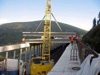 Росавтодор: конструкция балок противолавинной галереи в Туве рассчитана на сейсмоактивность до 9 баллов