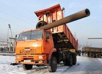 Открытый кузов КАМАЗа повредил трубопровод Кызылской ТЭЦ. Теплоснабжение города не нарушено