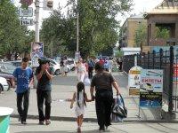 Кызыл. Как жильцы смогли добиться чистоты и уюта в своем подъезде