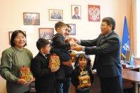 В преддверии Нового года в Туве проходит акция «Капелька мечты»
