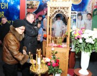"""На выставке в """"Субедее"""" - ковчег с частицей мощей блаженной Матроны Московской"""