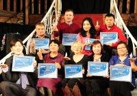 Журналисты Тувы принимают поздравления с профессиональным празником