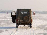 В Туве открыта еще одна ледовая переправа