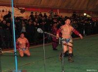 Cайын-Белек Тулуш победил в республиканском турнире по борьбе хуреш, организованном Сут-Хольским кожууном