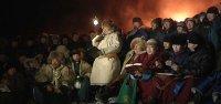 Тысячи мужчин Тувы встретили Шагаа на вершинах гор