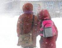 Сегодня в Кызыле в связи с морозами отменены занятия для школьников 1-11 классов