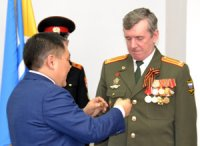 В Туве накануне Дня Защитника Отечества вручены государственные награды