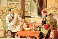 На сцене Тувы показан популярный монгольский мюзикл