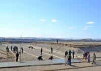 В столице Тувы развернулось строительство Президентского кадетского училища