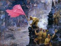 Московские художники приехали на пленэр в Туву
