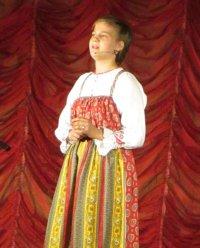Прошел сольный концерт самой голосистой девочки Кызыла