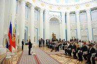 Педагог, композитор, музыкант Вячеслав Танов получил госнаграду в Кремле из рук Президента России