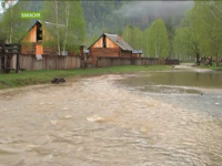 Глава Тувы предупредил, что метеопрогнозы далеко не утешительны и угроза паводка в регионе сохраняется