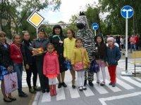 В честь Дня защиты детей Госавтоинспекция Тувы подарила праздник юным участникам дорожного движения