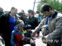 Агентство по делам семьи и детей Республики Тыва поздравило детвору Левобережных дач с праздником
