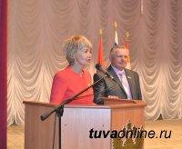 Участников Первого форума депутатов Курагинского района приветствовала делегация Тувы