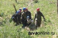 Команда из Чаа-Хольского района Тувы, победившая на республиканском этапе соревнований «Школа безопасности», выехала в Красноярский край