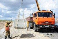 До границы с Монголией завершается асфальтирование дороги по территории Тувы