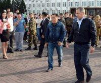 Cергей Шойгу 4 июля с кратким визитом побывал в Туве